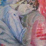 Innere Stille · 100 x 80 cm · Acryl auf Canvas · 2013