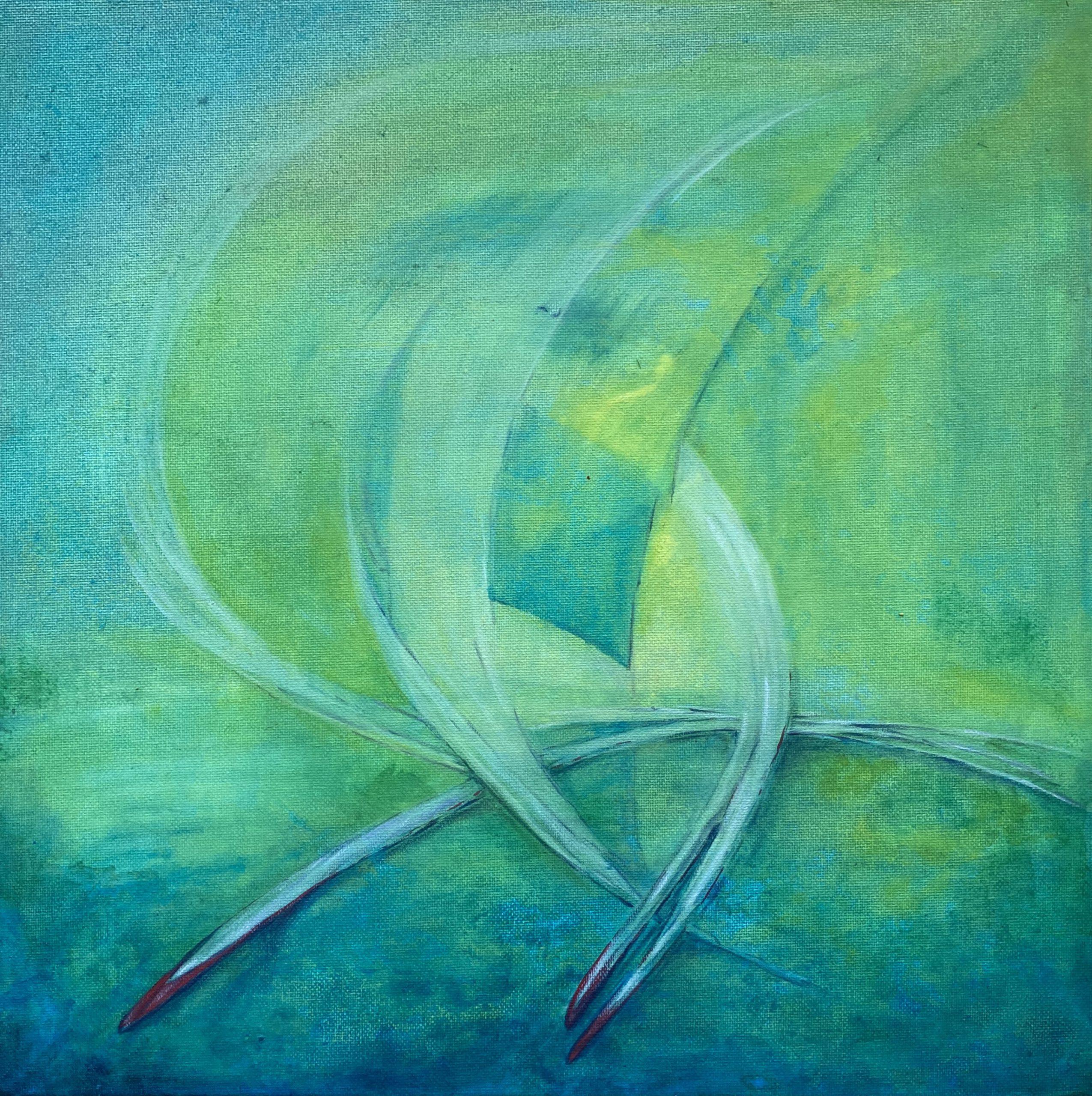 O. T. · 40 x 40 cm · Acryl auf Canvas . 2020
